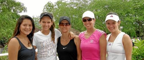 Fin de semana de tenis y squash en el Campestre
