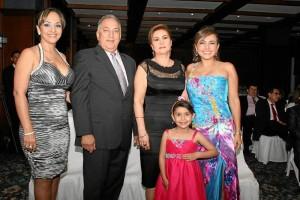 Ángela Gordillo, Jorge Humberto Reyes, Claudia Rocío Cadena, Jenny Magaly Santos y Lorena Centeno.
