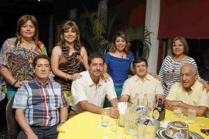Quintilio Cardozo, German Soto, José Quevedo, Enrique Aguilar, Gladis Rangel, Martha Marín, Martha Jerez, María Eugenia Quintero.