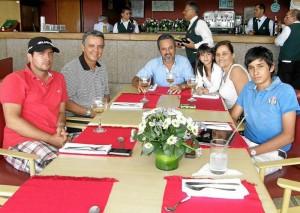 Germán Ángel, Gustavo Loza, Libaniel Coy, Sarita Loza, María Álix Gómez Gómez y Juan David Coy.