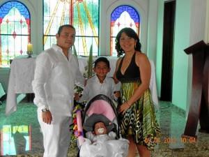 Diego Rojas, Andrés Felipe Rojas Ortiz, Mayerlith Ortiz y Mariana Rojas Ortiz.
