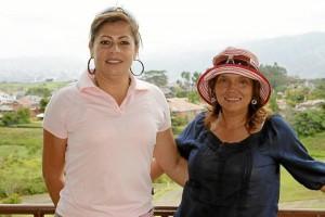 Olga Lucía Salazar y Claudia Sandoval.