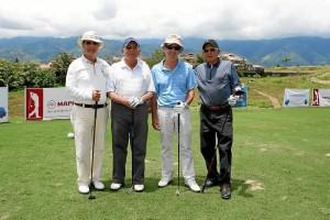 Alberto Moreno Prada, Arturo Morales, Guillermo Ángel Toro y Manuel Lacharme.