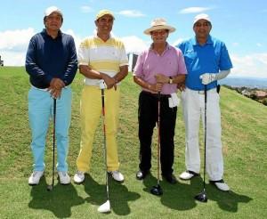 Segundo Enriquez, Jairo López, Jaime Ávila y Raúl Enrique Rubio.
