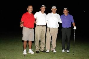 Fabio Castillo, Juan Daniel Rodríguez, Antonio José Peña y Darío Mesa.