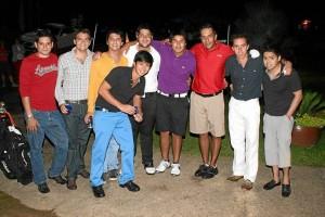 Gabriel Rey, David Cepeda, Diego Aldana, Sergio Mogollón, Félix Silva, Franco Valencia, Fernando Martínez, Víctor González y Fabián Rojas.