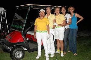 Nelly González, Martha Luz Flórez, Diana Rueda Rojas, Ángela María Anaya, María Isabelle Ramírez.