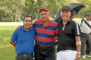 Eduardo Valencia, Alfredo Morales y Manuel Arenas.