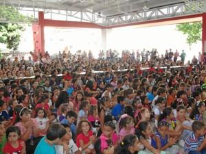 Los asistentes disfrutaron al máximo la presentación de la pequeña artista.