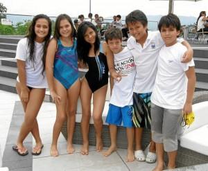 Silvia Herrera, Vanessa Gómez, Carolina Santander, Andrés Gómez, Javier David Sanguino y Luis Antonio Díaz.