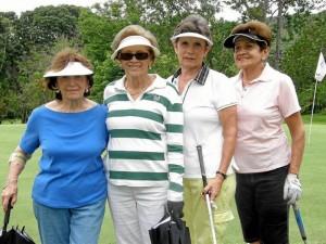 Zunilda de Janiot, Martha de Vargas, Clara Inés Orduz y Berenice de Guerrero.
