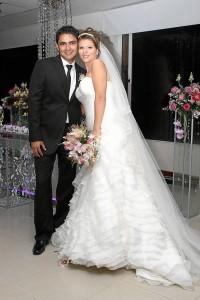 Mauricio Torres y Mabel Matajira.