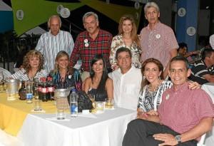 Álvaro Badillo, Fernando Higuera, Adriana Uribe, Eduardo Higuera Badillo, Miriam Boo, Mónica Matías, Álvaro Tovar, Sandi Solano y Luis Armando Vesga.