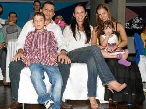 Carlos Quijano, Carlos Quijano, Carolina Acevedo, Juna Camila Gómez y Camila Salcedo Gómez.
