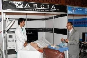 Así lucía uno de los stands dedicado al campo de la cirugía plástica. Foto Mauricio Betancourt / GENTE DE CAÑAVERAL
