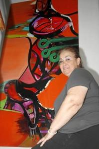 """""""El arte es un bálsamo para el espíritu, es una tregua de reflexión y sirve justamente para conciliarnos con la humanidad"""". Foto Nelson Díaz / GENTE DE CAÑAVERAL"""