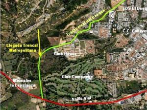 Así será el trazado de la transversal El Bosque que parte de la paralela, se une con la troncal nortesur (por construir) y termina en el anillo vial.