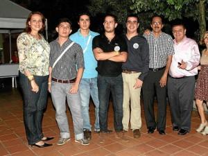 Paola Pimienta, Carlos Hernández, Iván Barrera, Sergio Rodríguez, Juan Daniel Martínez, Ricardo Ballesteros, Libardo Lozano, Gisela Afanador y Esmeralda Mora.