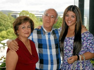 Patricia Rincón, Bernardo Ríos y Silvia Ríos.