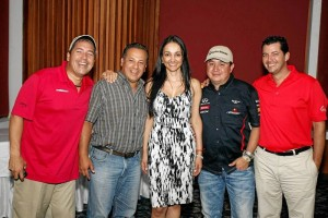 Franklin González, Fredy Velásquez, Lina Campo, Farid Jones y German Ángel.