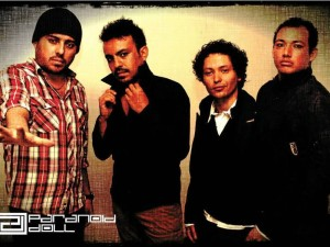Los integrantes de ParanoidDoll: MaelzelCorvin (guitarrista), Charles Newman (vocalista), Joseph Hyde (bajista) y Chris Martin (baterista). ( Foto Suministrada)