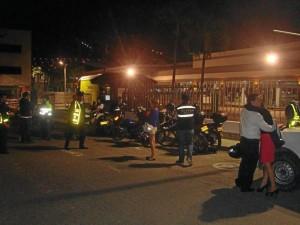Durante los días del fin de semana, 59 motociclistas violaron la restricción del tránsito de motos, en sectores como Cañaveral, La Cumbre, El reposo y El Carmen.