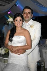 Laura Marcela Parra Reyes y Jairo de JesúsJaramillo. (Foto Nelson Díaz)