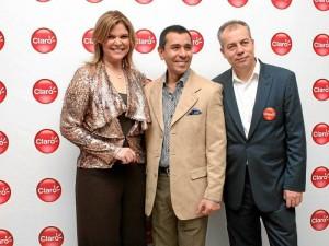 RosaMaría Corso, Mauricio Escobedo y José Vicente Serrano. ( Foto Mauricio Betancourt )