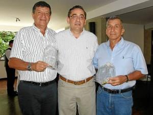 Germán Aparicio, Jorge Eduardo Silva y Ramón Santander. Javier Gutiérrez / GENTE DE CAÑAVERAL
