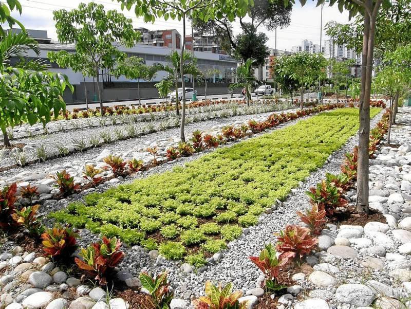 La administraci n de floridablanca espera entregar estos jardines que van desde el puente de - Jardines puente cultural ...