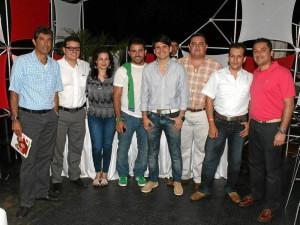 Óscar Pérez, Carlos René Miranda, Yaneth García, Fredy Ariza, José Luis Roa, Enrique Villa, Darwin Rojas y Jorge Ramírez.