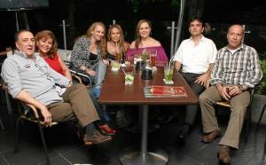 Juan Gómez Gutiérrez, Lucy de Gómez, Adriana Russo, Sonia Patricia To-rres, Sandra Orduz, Óscar Rodríguez y César Augusto Ortiz.