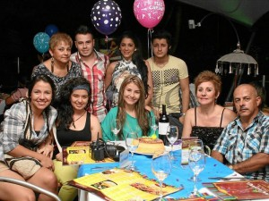Andrea Ardila, Alejandra Ruiz, Daniela Arcila, Diana Pineda, Jorge Arcila, Martha Cecilia Pineda, Carlos Arcila, Jennifer Quintero y Sebastián Gómez.