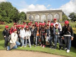 Los estudiantes de quinto grado de primaria del New Cambridge School es-tuvieron en Worcestershire, en Broomsgrove, en el Reino Unido.