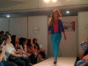 A los desfiles, que se realizaron el pasado jueves, viernes y sábado, asistieron las modelos María Carla Rodríguez, Catalina Robayo y Silvia becerra, invitada especial de Bamba.(Fotos Suministradas)