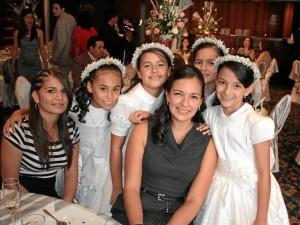 Yulieth Camargo, Aleyda Fonseca, Valentina Delgado, Camila de Castro, Mariana Bernal e Isabela Acevedo.