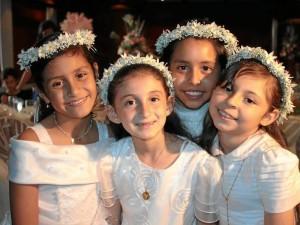 Ana Sofía García, María José Mantilla, Jessica Tatiana Díaz y Ana Sofía Urrea.