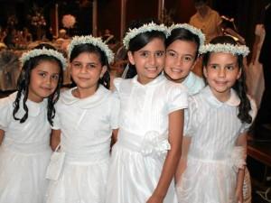 Mariana Pérez, Laura Valentina Jerez, Sofía Rueda, Daniela Ballesteros y María Gabriela Linares.