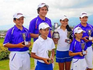 Ganadores de la copa Enrique Bambuco Samper. (Cortesía periodista)