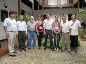 Carlos Marín, Carlos Jaimes Durán, Mario Gómez Díaz, Ximena Durán, Juan Felipe Gutiérrez, Johana Patricia García, Orlando Acevedo Pinzón y Álvaro Humberto Mancera.