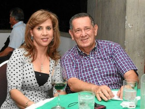 Mary Pardo y Aquiles Torres.