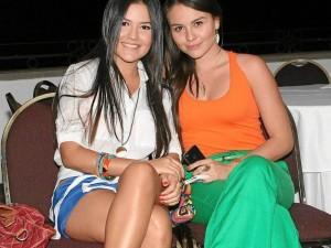 Vanessa Carreño y Alejandra Rodríguez. ( Foto Mauricio Betancourt )