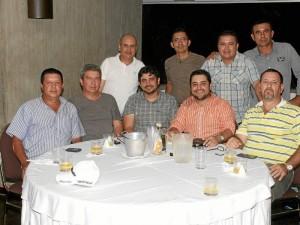 Édgar Sánchez, José Ramón Durán, César Augusto Pinzón, Dionisio Colmenares, Iván Hernández, William JoséRamírez, Eduardo Ardila, Álex Acosta y Ambrosio Torres.