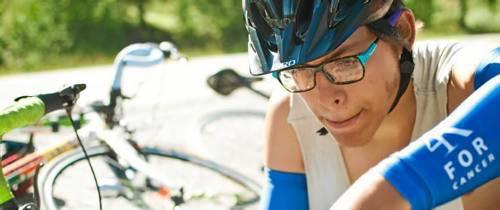 """""""Montar en bicicleta, sonreír y amar diariamente fue increíble"""""""