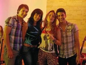 Walter Forero, María Sol Villamizar, Diana Ciliberti y Diego Díaz. ( Foto Mauricio Betancourt )