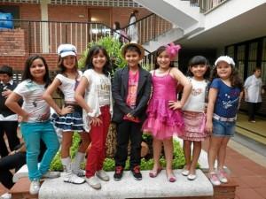 Daniela Adarme, Catalina Sánchez, Valentina Álvarez, Daniel Humberto Vega Hernández, Valeria Pineda, Mariana Porras, y Luna Tatiana Suarez.