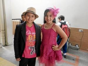 Daniel Humberto Vega Hernández y Valeria Pineda.