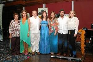 Isolina Rojas, Nohora Carreño, Fernando Gutiérrez, Daniela Gutiérrez, Fanny Carreño, Leonardo Gutiérrez y Lucía Cristina Ardila.