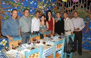 Juan Carlos Arenas, José Arenas, Luis Mahecha, Susan Jiménez, Carol Andrea Gómez, Olga Contreras, Mauricio Muñoz y Luis Dueñas.