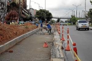 Con la obras en el sector se invirtió el sentido de uno de los accesos y se convirtió en salida hacia la autopista.